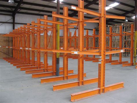 Lumber Racks For by New Used Cantilever Racking Single Sided Rack