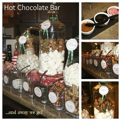 hot bar themes hot chocolate bar party time ideas pinterest