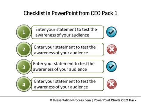 Creating Simple Check List In Excel Something New Everyday Powerpoint Checklist Template