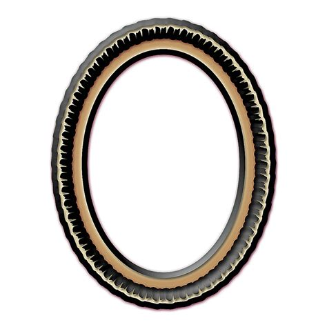 transparent oval frames red oval curlicue frame layered psd and png free download