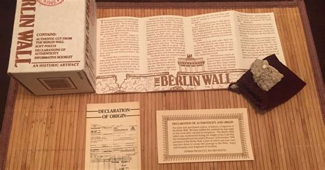 Your Piece Of The Berlin Wall Isn T Worth Very Much   your piece of the berlin wall isn t worth very much