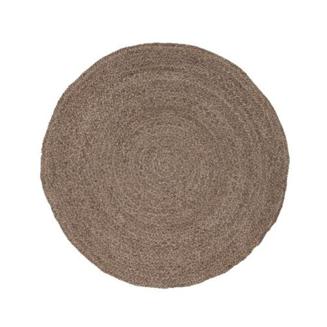 8x8 jute rug jaipur naturals solid and pattern neutral ivory jute area rug 8x8