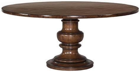 new tuscan pedestal dining table solid alder cherry