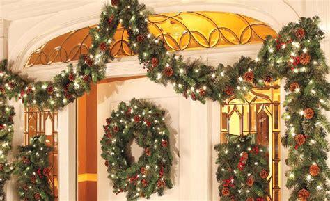 image result    hang garland  door outdoor