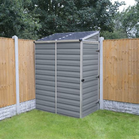 Plastic Pent Shed by Plastic Sheds The Plastic The Plastic