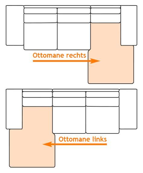 polsterecke ottomane rechts mailo polsterecke ecksofa braun ottomane rechts