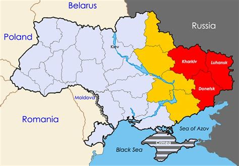 europe and russia map lab a geopolitical assessment of the situation in ukraine
