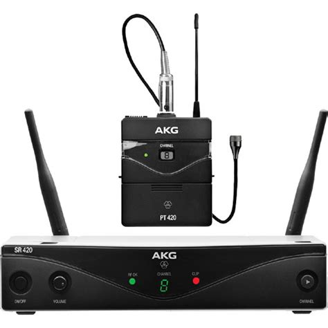Akg Wms420 Presenter Set Band B2 akg wms420 uhf wireless presenter system 3414h00090 b h photo