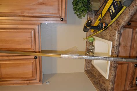 Hanging A Closet Rod by Hanging A Custom Closet Rod In The Laundry Room I Am Hardware