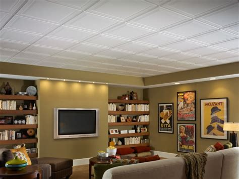 basement ceiling tiles basement ceiling installation