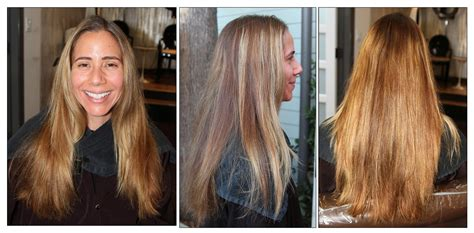 color correction from blonde to brunette neil george