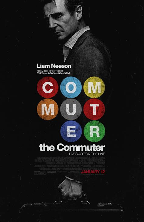 the commuter the commuter new trailer and poster nothing but geek
