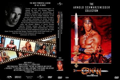 conan the destroyer dvd cover conan the destroyer movie dvd custom covers 4094conan
