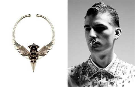 Tas Givenchy V Ring K 10 best images about septum piercings on posts haute couture and nose rings