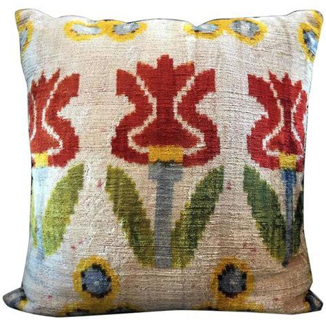 Handmade Cushions Vintage - decorative antique vintage handmade turkish velvet pillow