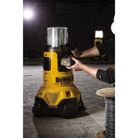 dewalt 20v led light dewalt dcl070 20v max corded or cordless bluetooth led area