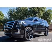 2015 Cadillac Escalade With 28 Forgiato Otto In Chrome Wheels  Wheel