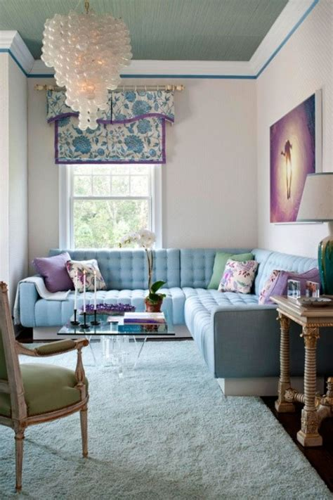 wohnzimmer hellblau kleines wohnzimmer farbgestaltung f 252 r optische