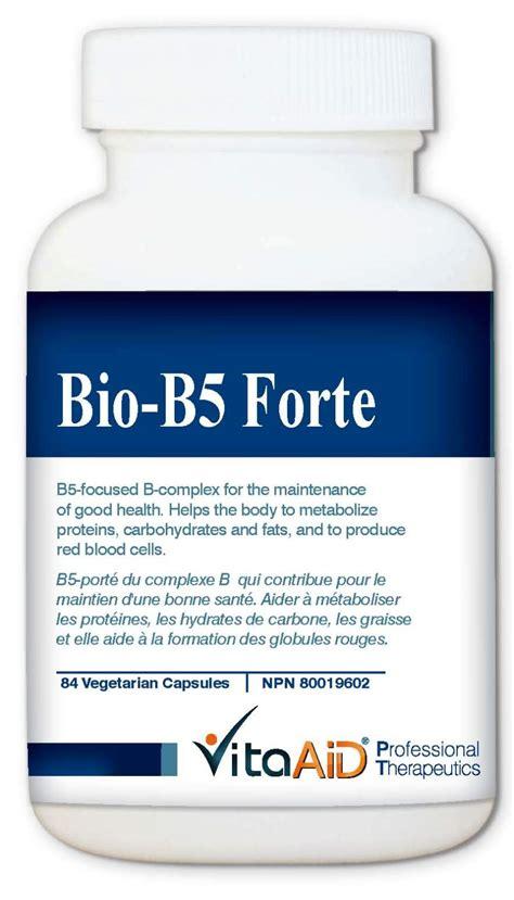 b5 bio vita aid professional nutrition product
