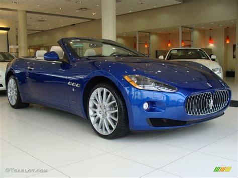 blue maserati granturismo convertible maserati granturismo convertible blue