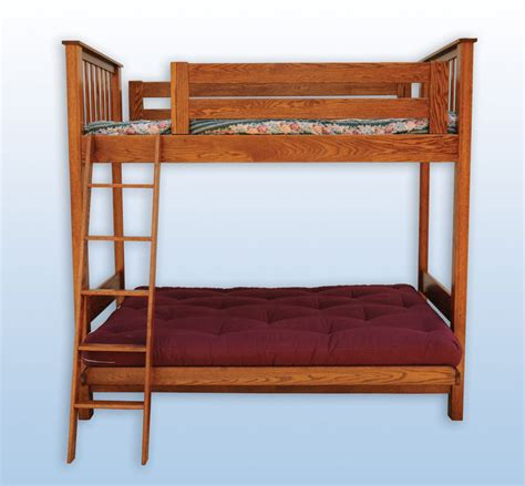 Loft Bed Futon by Futon Loft Bed Ohio Hardwood Furniture
