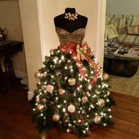 tree  year dress form christmas tree mannequin christmas tree