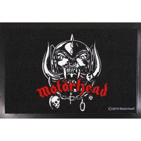Motorhead Logo mot 214 rhead logo doormat nuclear blast