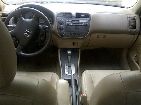 Honda Civic 2002 Interior by Tokunbo 2002 Honda Civic Lx With Leather Interior Price N1m Autos Nigeria