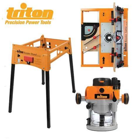 triton precision router table with dual mode precision