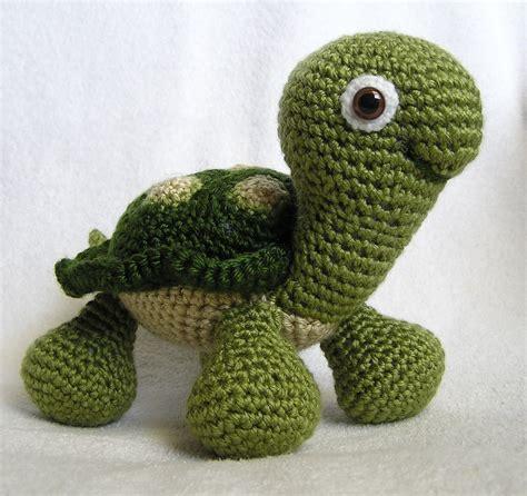 Pattern Crochet Turtle   baby turtle pdf crochet pattern english only