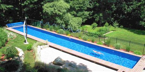 backyard lap pool lap pool backyard pool designs