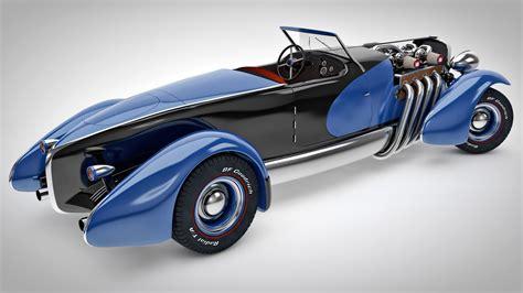 1933 duesenberg sj speedster custom by samcurry on deviantart