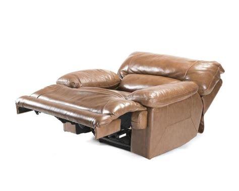 overstuffed recliner chairs an electric overstuffed leather recliner chair