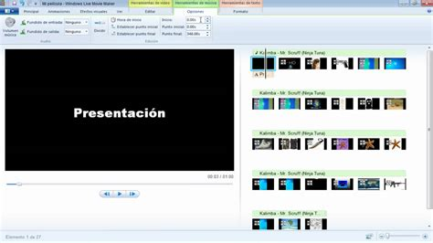 windows movie maker windows vista tutorial movie maker windows 7 tutorial en espa 241 ol modificando