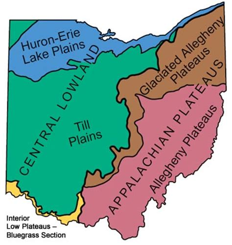 Search For In Ohio Major Landforms In Ohio Search Engine At Search