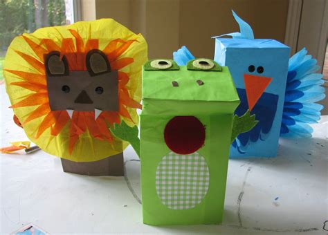 puppet craft for easy puppet craft living locurto