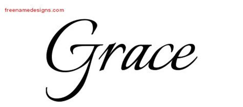 tattoo name grace grace archives free name designs