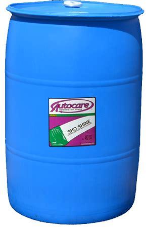 Sho Wax sho shine 55 gallon