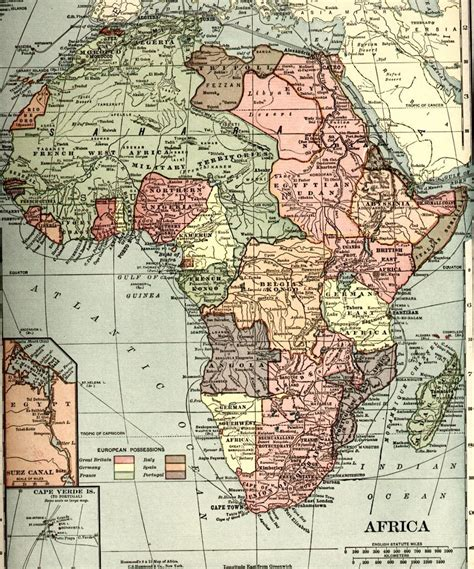africa map 1900 history of africa new world encyclopedia
