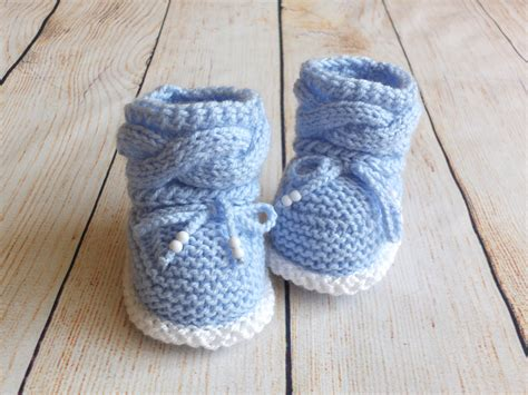 baby boy booties knit baby boy booties knitted baby booties baby