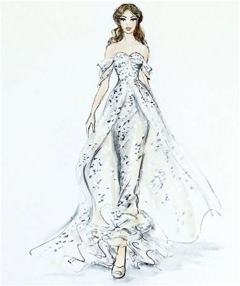 wedding dress sketch sketch of wedding dress wedding ideas