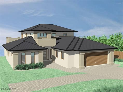 modern house hip roof