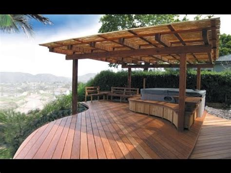 Backyard Deck Designs Ideas Youtube Deck Patio Design Pictures