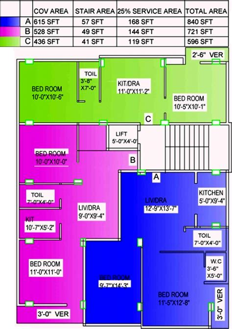 700 Sq Ft 2 Bhk 1t Apartment For Sale In Jinia Developers 865 Sq Ft 2 Bhk
