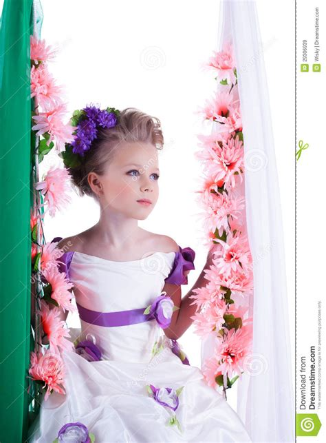 On Lovely by Portrait Of Lovely In Smart Dress Royalty Free Stock