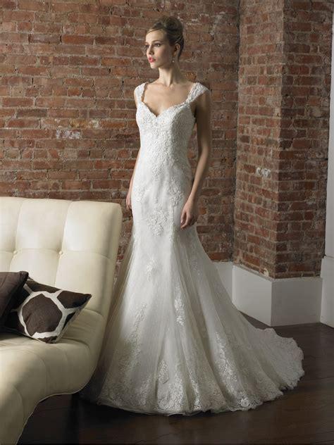 cap sleeve wedding dress luxury brides
