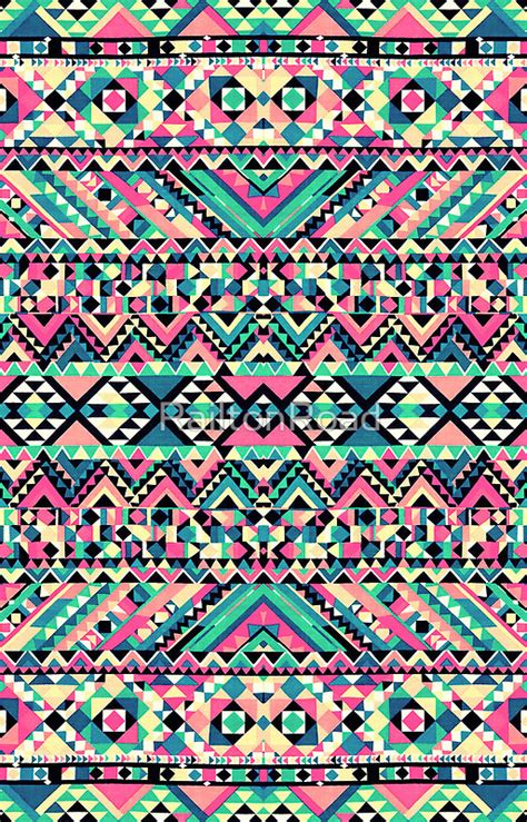 girly pattern pinterest pink turquoise girly aztec andes tribal pattern by