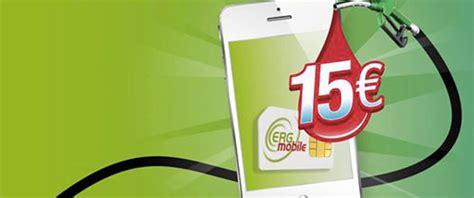 tariffe erg mobile erg mobile fino al 30 giugno vinci 15 di sconto per