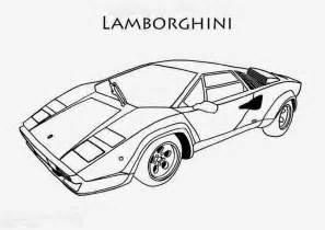 Coloriage De Lamborghini Dessin De Lamborghini A Imprimer L L L L L L L L