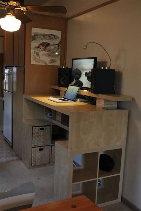 Ikea Hacker Standing Desk 10 Ikea Standing Desk Hacks With Ergonomic Appeal